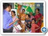 Dr. G. Karunasagaran, Scientist-D, ENVIS Centre explaning about World Wetland Day to village peoples