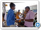 Mr. P. Thirumurugan, Information Officer interacting with School students and public