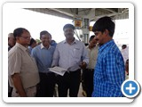 Mr. Surya Prakash, DRO, Karur, visited ENVIS Centre stall on Microorganisms and Environment Management