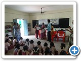 Frist Price Ms. S. Pavithra, VII Std.( Theme Global Warming)  panjayath middle school, Manathattai village, karur district.