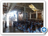 Mr. P. Thirumurugan, Information Officer, interacted with School Students to create awareness related to World Environment Day Theme 2016 at Bharathi Vidyalaya High School, Kulithalai, Karur district.