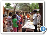 ENVIS Staffs interact with parent & children and issuing Environment  awareness product to the at Shakes Park, Chennai.